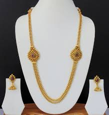 50 best gold necklace images on indian jewelry