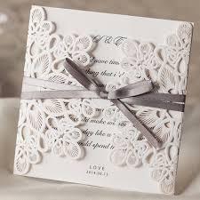 online get cheap wedding invitations white aliexpress com