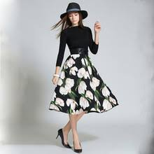 popular floral sweater dress buy cheap floral sweater dress lots