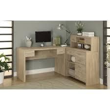 Espresso Desk With Hutch Latitude Run Milford L Shaped Computer Desk With Hutch U0026 Reviews