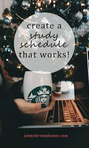 how to create an exam study schedule that actually works exam