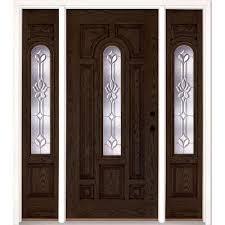 Oak Exterior Door by Oak Front Doors Exterior Doors The Home Depot