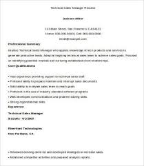 Sales Manager Resume Templates Sales Manager Resume Free U0026 Premium Templates