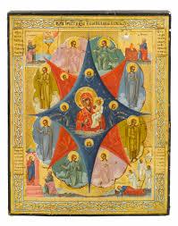 mother of god of the burning bush iconography pinterest