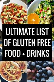 list of gluten free foods what you can and can u0027t eat