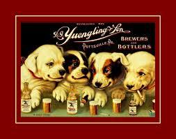 arleyart com yuengling beer puppies wall decor dog gift wall