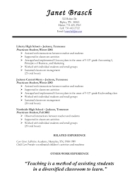 Student Teacher Resume Template Neat Design Student Teaching Resume 10 Lessons For High