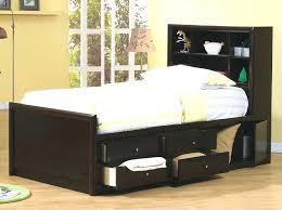 Twin Captains Bed With Drawers Twin Bed With Drawers U2013 Bookofmatches Co
