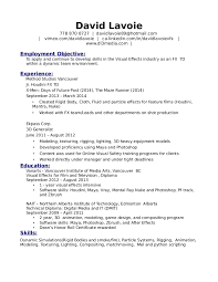 Resume Interests Examples by Resume