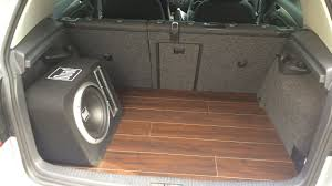 Floor Lamination How To Install A Laminate Floor In Your Car Youtube