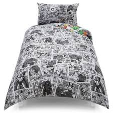 Marvel Double Duvet Cover Buy Marvel Comic Pop News Single Duvet Set Tesco Exclusive From