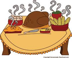food clipart thanksgiving dinner pencil and in color food clipart