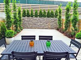 Modern Backyard Fence by Boerum Hill Brooklyn Townhouse Backyard Bluestone Patio Cedar