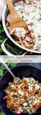 Spoonful Of Comfort Reviews One Pot Supreme Pizza Quinoa Casserole Spoonful Of Flavor