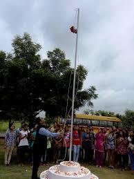 Indian National Flag Hoisting Flag Hoisting Independence Day Celebration 15th August 2015
