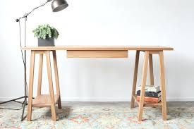 simple desk plans desk chic sawhorse desk plans images simple sawhorse desk plans