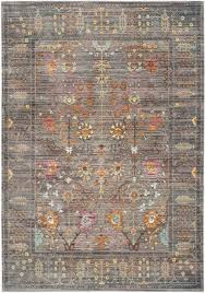 Dining Room Rug Grey Floral Design Area Rug Valencia Room Rugs And Polyester Rugs