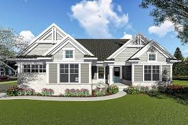 two bedroom craftsman ranch house plan 890052ah architectural