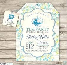 bridal tea party invitations bridal tea party invitations and printable tea party bridal shower