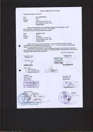 contoh surat pernyataan format a1 surat surat wakaf masjid masjid jami al muchlisin pekayon jakarta