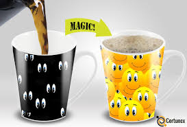 Color Changing Mugs Magic Coffee Mugs Travel Mug Heat Sensitive Color Changing