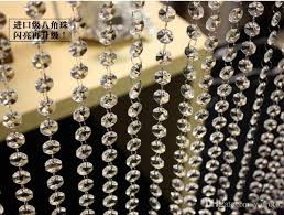 Chain For Chandelier Online Cheap Bead Chain For Wedding Decoration A Grade Glass
