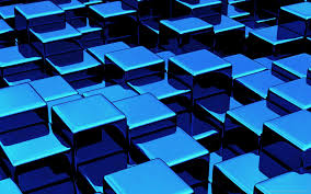download 1440x900 blue 3d cubes wallpaper background wallpaper