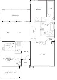 Pardee Homes Floor Plans | montero plan 4c floor plan at inspirada in henderson nv las vegas