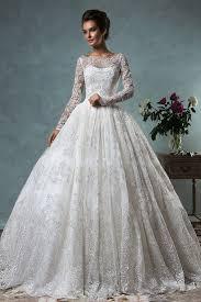 sle wedding dresses vintage sleeve gown wedding dress lace applique 2018