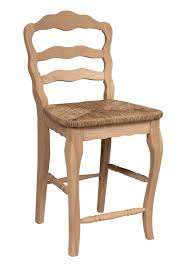 rattan kitchen furniture furniture unfinished bar stools with round padded seat and back