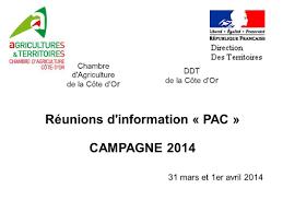 chambre d agriculture 31 réunions d information pac ppt télécharger