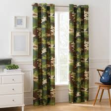 mainstays camouflage boys room darkening bedroom curtain walmart com