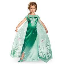 elsa frozen fever girls deluxe costume buycostumes