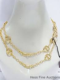 1ar by unoaerre 1ar by unoaerre 18k gold plated italian y chain necklace of