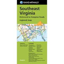 Map Of Richmond Virginia by Southeast Virginia Richmond To Hampton Roads Regional Map