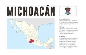 Michoacan Map Winter Paralympics Olympics Michoacán Mexico 2022 Ray Nuñez
