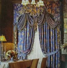blue floral victorian home curtains victorian home curtains