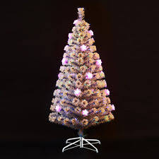 Christmas Tree With Optical Fiber Lights - fiber optic christmas tree ebay