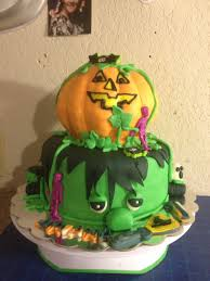 frankie and punkin u2026my latest halloween cake for little ariana u0027s
