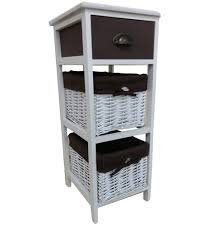 Chest Of Drawers With Wicker Drawers 3 Tier Basket Drawers Defaultname Anthony California Cottage Home