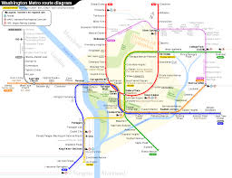 Metro In Dc Map by Washington Metro Wikipedia