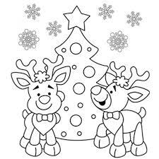 free printable santa merry christmas xmas coloring pages sheets
