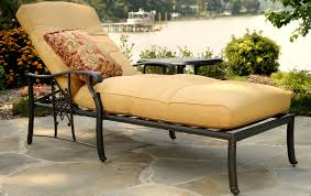 Patio Lounger Cushions Patio Chaise Lounge Home Design By Fuller
