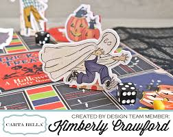 for the love of paper halloween board game fun