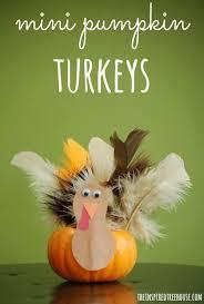 turkey pumpkins thanksgiving crafts for kids mini pumpkin turkeys
