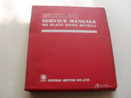 used genuine suzuki vs700gl gle 1985 dealer service manual 99500