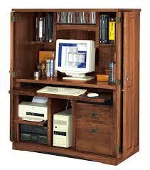 Office Desk Armoire Cabinet Armoire Desk Armoire Furniture Oak Office Computer Desk