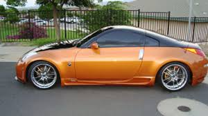 nissan orange 2004 nissan 350z for sale kahului hawaii