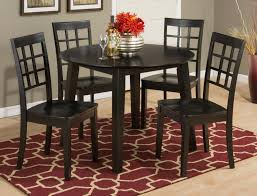 espresso dining table with leaf simplicity espresso drop leaf dining table with four grid back