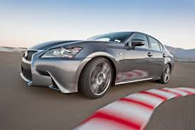 lexus coupe on 24s at the las vegas speedway with a 2013 lexus gs 350 f sport and an